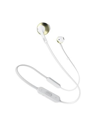 JBL T205 BT Şampanya Bluetooth Mikrofon Kulak İçi Kulaklık Renkli